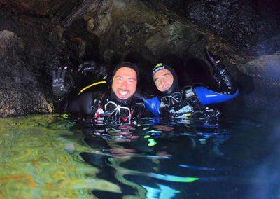 immersione - grotta delle corvine02
